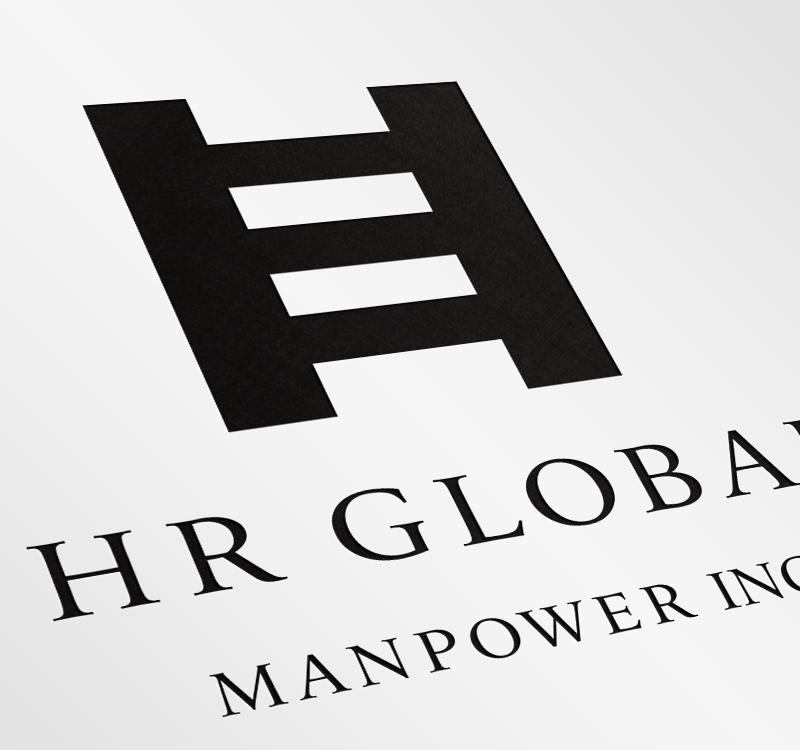 HR GROBAL ロゴ
